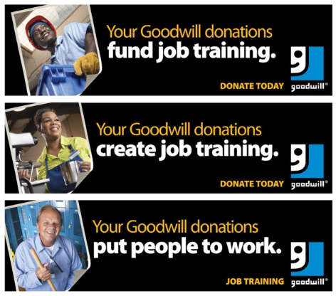 Goodwill the home that yard sales built for What does the ceo of goodwill make